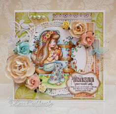 Blossom Berry Sitting Pretty, Elizabeth Bell image for Whimsy stamps