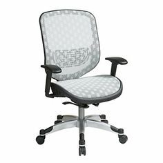 Space Office Chair in Dotted Mesh, 829-R11C628P