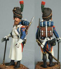 Старая Гвардия Наполеона (Сапер
