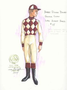 Yankee Doodle Dandy (George Cohan). 5th Avenue Theatre, Seattle. Costume design by Gregory A. Poplyk. 2004