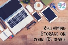 SingToKids: Reclaiming Storage on your iOS Device