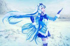 Hatsune Miku snow (VOCALOID)