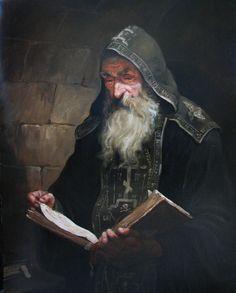 Схимник – картина художника Андрея Шишкина