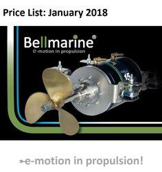 Elektrisch varen prijslijst Bellmarine