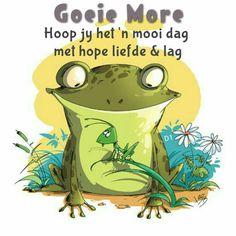 Goeie more... Hoop jy het 'n mooi dag met hope liefde & lag