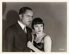 William Powell in the first Philo Vance movie with Louise Brooks