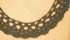 Moda y tejido Hola amiga del tejido,hoy queremos invitarte a tejer un fino collar que lucirá espectacular en ti o si lo deseas puedes ha...