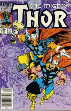 Thor and Beta Ray Bill by Walt Simonson (Marvel)