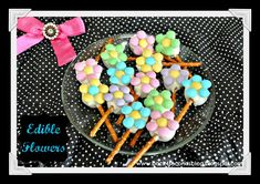 Edible Flowers by Back For Seconds   #flowers #candy #easter http://backforsecondsblog.com