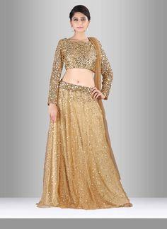 569c6f6d8a We offer latest and exclusive wedding lehenga choli and party wear lehenga  choli. This enigmatic sequins work lehenga choli.