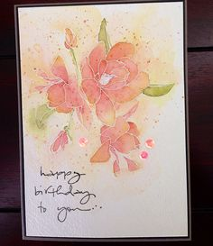 handmade card ... Altenew stamp and Penny Black sentiment ... gorgeous watercoloring| by kaoby1