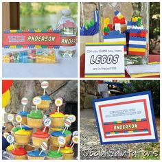 Lego Party Ideas from Social Salutations