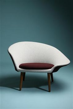 Arm chair, designed by Hans Olsen, Denmark. 1950's.  www.propertyrevamped.com.au