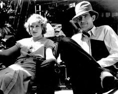 Ernest B. Schoedsack & Fay Wray on the Skull Island native village set from King Kong…