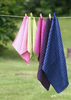 Karklud og håndklæde - Gratis download-opskrift