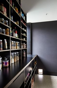 Project Cotswold Country House Main kitchen – Own Kitchen Pantry Bulters Pantry, Kitchen Butlers Pantry, Pantry Shelving, Kitchen Pantry Design, Kitchen Jars, Kitchen Organisation, Walk In Pantry, Kitchen Interior, Interior Design Living Room