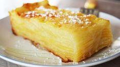 Préparation : Préchauffer le four à 200°C (thermostat 6-7). Tamiser ensemble la farine, la levure chimique et le sel. Battre les oeufs avec le sucre jusqu'à ce que le mélange mousse et pâlisse, ensuite Ajouter alors le beurre préalablement fondu, le lait et l'arôme vanille. Fouetter de nouveau