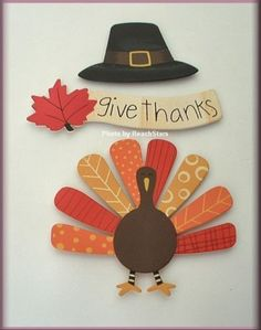 THANKSGIVING-ICON-METAL-MAGNETS-SET-OF-3-EMBELLISH-YOUR-STORY-FREE-U-S-SHIPPING