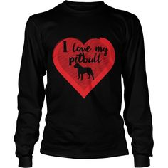 Pitbull  Dog I love my pitbull - Kids Long Sleeve T-Shirt  #gift #ideas #Popular #Everything #Videos #Shop #Animals #pets #Architecture #Art #Cars #motorcycles #Celebrities #DIY #crafts #Design #Education #Entertainment #Food #drink #Gardening #Geek #Hair #beauty #Health #fitness #History #Holidays #events #Home decor #Humor #Illustrations #posters #Kids #parenting #Men #Outdoors #Photography #Products #Quotes #Science #nature #Sports #Tattoos #Technology #Travel #Weddings #Women