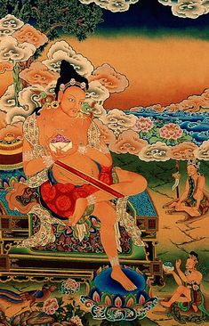 """Tilopa (988–1069) is considered the source of the oral lineage traditionally traced back to the Buddha Vajradhara, then transmitted by him through Naropa (1016–1100) to Marpa and Milarepa. These forefathers of the Kagyu lineage are collectively called the """"golden rosary"""". Karma Kagyu is probably the largest and certainly the most widely practiced lineage within the Kagyu school, one of the four major schools of Tibetan Buddhism."""