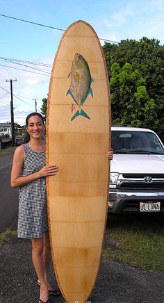 Bamboo Surfboards-Hawaii