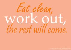 Amen!  Eat clean people. You'll be amazed at what your body will do when you quit feeding it crap.