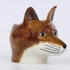 Caille céramique-Fox Face-Coquetier
