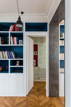 Passages Appartement parisien de 180m2-GCG ARCHITECTES
