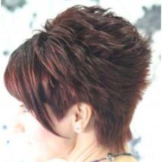 Cute Short Hair With Layers, Layered Hair, Short Sassy Hair, Short Hair Cuts For Women, Short Hair Styles, Short Spiky Hairstyles, Mom Hairstyles, Short Hairstyles For Women, Haircuts