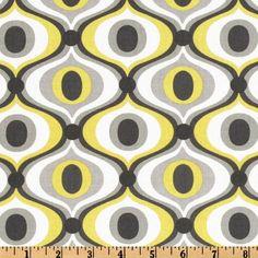 Michael Miller Fabric Feeling Groovy in by BelloBerryFabricShop