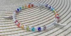 Chakra Armband - Esoterik Magie Magisch Zauberhaft Schmuck Regenbogen Bunt Wire