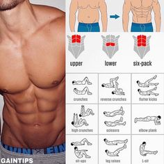 Great Abs Workout for guys Like and Save this for when you later need it - credit : @gaintips