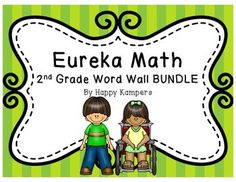 These are ALL vocabulary words introduced and used in Eureka Math's modules for second grade. Vocabulary words have definitions and can be used as a word wall for student reference. Pictures are displayed on some words to help demonstrate meaning.Word Walls can help students fully comprehend new vocabulary words as well as make connections from past units.