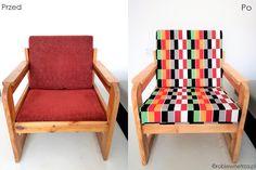 fotel prl, prl-owski fotel, jak odnowić fotel, stary fotel, tapicerowanie, fotel, tapicerowany, old armchair ideas, old armchair makeover diy fabrics, armchair makeover