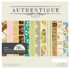 Love the Authentique line of paper