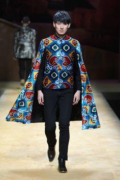 mens_fashion - Male Fashion Trends CC IKATS by Yingfen Cheng SpringSummer 2017 MercedesBenz Fashion Week China FashionTrendsCasual Fashion Moda, Suit Fashion, Fashion Week, Fashion 2017, Urban Fashion, Love Fashion, High Fashion, Fashion Design, Fashion Blogs