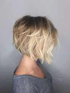 30 Cute Messy Bob Hairstyle Ideas