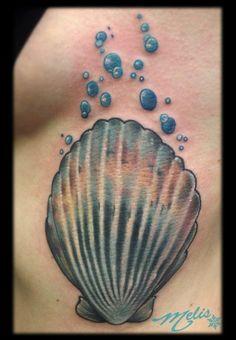 scallop tattoo | melissa-fusco-scallop-shell-tattoo-denver-colorado-web