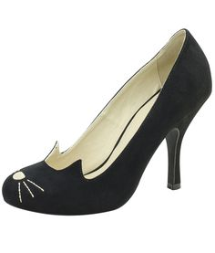 TUK Bombshell Sophistakitty Shoes In Black | Tiger Milly