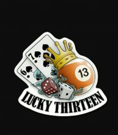 Lucky thirteen with the 6 of hearts and 7 of  diamonds no dice