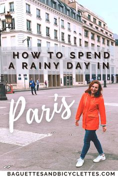 Visiting Paris on a Rainy Day? Don't let the clouds get you down! There are so many fun things you can do and see in Paris, France when it rains! Secret Walks and Hidden Spots included! Paris France Travel, Paris Travel Guide, Europe Travel Tips, European Travel, Travel Guides, Backpacking Europe, Travel Destinations, Day Trip From Paris, Paris Winter
