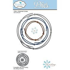Elizabeth Craft Designs Steel Cutting Dies are compatible with most die cutting machines Page Mall, Fun Crafts, Paper Crafts, Circle Crafts, Elizabeth Craft Designs, Simon Says Stamp, Digi Stamps, Design Crafts, Circles