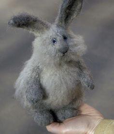 Stuffed Animals by Natasha Fadeeva - stuffed rabbit