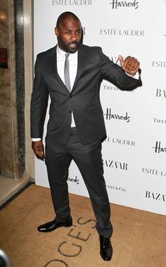 Can we just take a moment to appreciate Idris Elba? Just look at him.