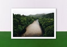 Poster, Polaroid Film, Etsy Shop, Pictures, Scotland, Postcards, Art Print, Brown, Printing