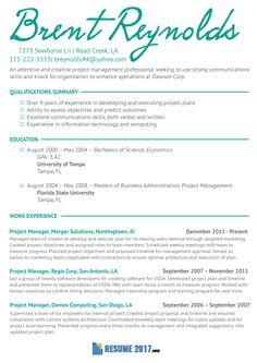 best resume format for 2018