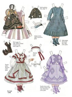 Magazine Paper Dolls - Chrissy Robinson - Picasa Webalbum