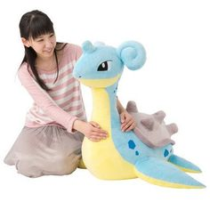 Pokemon Center Exclusive Extra Large Lapras Plush (PREORDER - July 2017 Release)