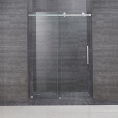aston 48inch frameless sliding glass shower door overstock shopping big discounts