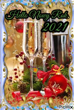 Happy New Year Gif, Happy New Years Eve, Happy New Year Greetings, New Year Wishes, Merry Christmas And Happy New Year, New Years Eve Quotes, Popular Flowers, Pink Garden, Christmas Centerpieces